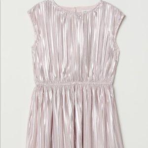 H&M shimmery Metallic dress